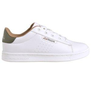 大童款 绿尾小白鞋