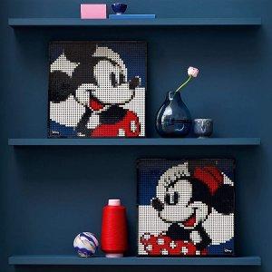 折后€72.23 米奇米妮带回家史低价:Lego 31202 迪士尼米老鼠装饰画热卖 满满童年回忆
