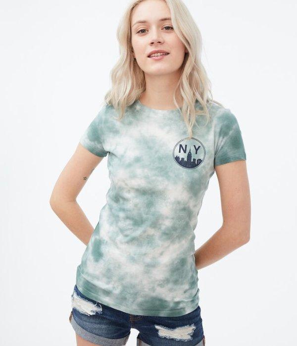 NY Skyline T恤