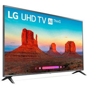 LG最大的电视 $2497 送礼卡LG 86吋 4K HDR 智能电视 86UK6570PUB
