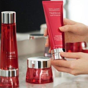送精华3件套+叠9折Estee Lauder 抗氧化之红石榴系列 针对亚洲肤质,固本延缓衰老
