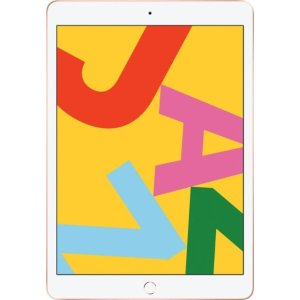 Apple- iPad (Latest Model) with Wi-Fi - 32GB - Gold