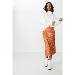 Cotton OnBelle Bias Midi Skirt
