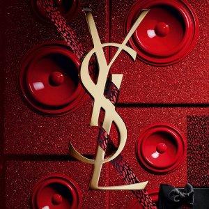 低至5折+额外9折 €15收小金条YSL 爆款彩妆 好价持续 收绝美小粉条、圣诞限定豹纹方管圆管