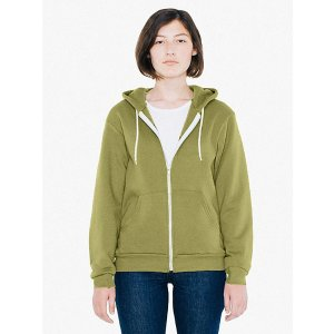American ApparelUnisex Flex Fleece Zip Hoodie | American Apparel