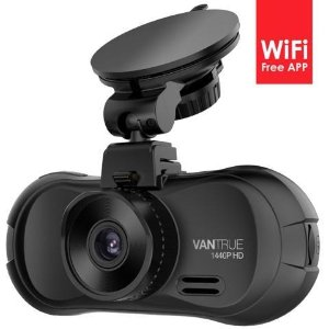 $105.99 (原价$149.99)Vantrue X3 2.5K WiFi 夜视 行车记录仪