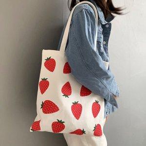 35 x 40 cm草莓帆布袋