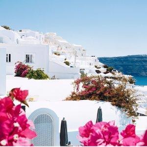 双人仅$675爱琴海圣托里尼 梦幻豪华套房3晚住宿 带顶层私人按摩浴缸