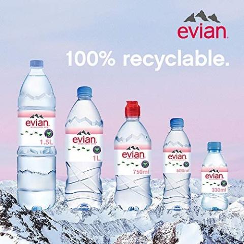 部分享订阅9折+重货免邮到家Amazon 水饮料专场 依云、Voss、巴黎水等