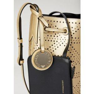 Emporio ArmaniBucket Bag With Strap And Logo Charm for Women | Emporio Armani