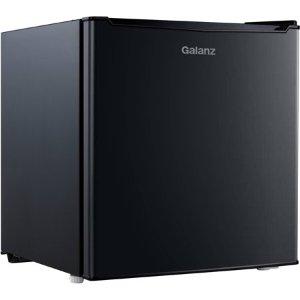 $79Galanz 1.7 Cu Ft 单门迷你冰箱 黑色