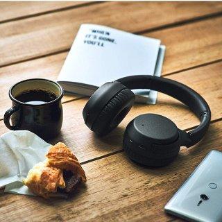现价£107(原价130)史低价:Sony WH-XB700 重低音 无线立体声耳机 蓝黑两色