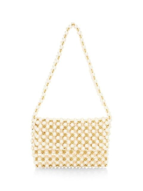 珍珠斜挎包