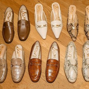 低至3折+变相额外8折Sam edelman气质美鞋  真皮穆勒鞋$50 $106收Gucci平替