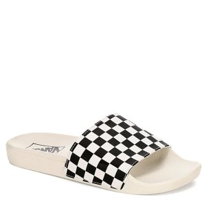 VansWHITE VANS Womens Wm Slide-one