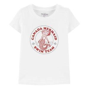 Oshkosh加拿大美人鱼游泳队T恤