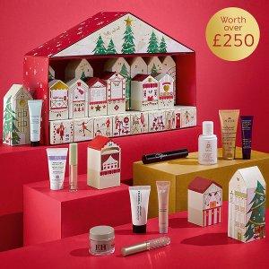 £35得25件圣诞日历(价值超 £250)M&S 购买满 £35换购超值圣诞日历