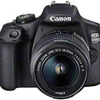 7折 £330 拿相机EOS 2000D 好价促销 随机身附赠 EF-s 18-55mm镜头