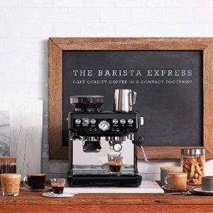 咖啡界的神器史低¥2667Sage The Barista系列 SES875BKS 半自动咖啡机