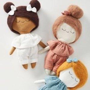 $10.46 入超萌儿童游戏书anthropologie 儿童玩具床上用品等特卖 高颜值,超柔美