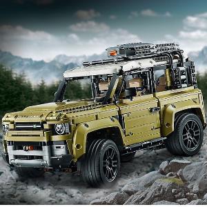 $249.99 十月一日上市预告: LEGO官网 路虎卫士 42110,比真车率先一步