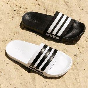 低至2.5折 £9.99入adidas运动拖鞋上新:Foot Locker官网夏季大促换新品 运动拖鞋助你清凉一夏