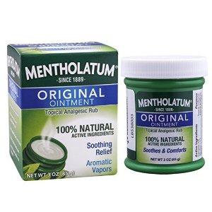 $3.48 包邮史低价:Mentholatum Ointment 曼秀雷敦薄荷膏 85g