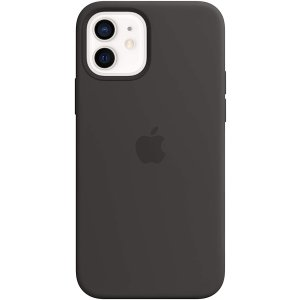 AppleSilicone Case with MagSafe (for iPhone 12 | 12 Pro) - Black
