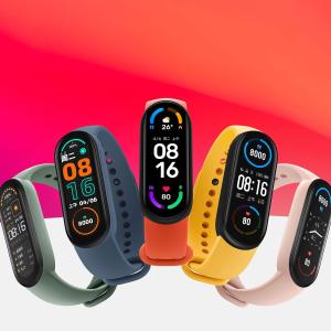 $43.36 新增血氧饱和度监测小米手环 6,健康追踪全能手环, 全新全面屏设计
