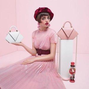 7折起+全球免邮包税+送时尚信封包黑五独家:西班牙设计师品牌Nina Hauzer全网美包美鞋热卖