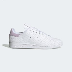 Adidas香芋紫 小白鞋