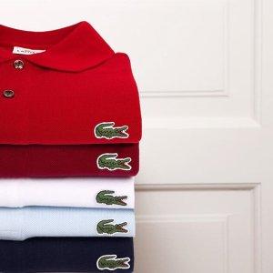 7折 入经典POLO衫Lacoste 亲友会 精选服饰、箱包、鞋履热卖