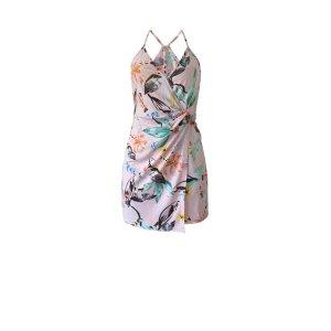 BCBGenerationTwist-Front Surplice Dress