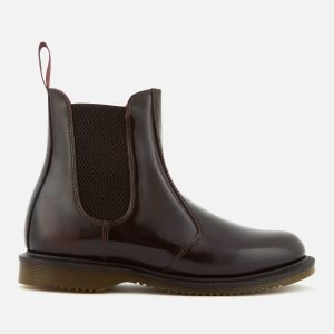 Dr. Martens3/7/8码樱桃红切尔西靴