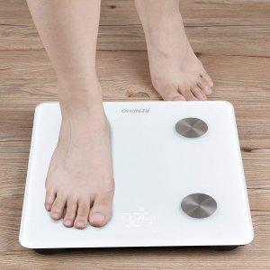 RENPHO 蓝牙智能体重秤 减肥体重追踪必备