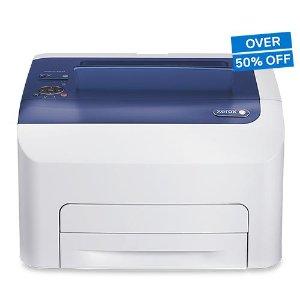 $89.99预告:Xerox Phaser 6022/NI 无线彩色激光打印机
