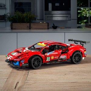 LEGO 42125 法拉利 488 GTE 新品首发首促 早买早享受