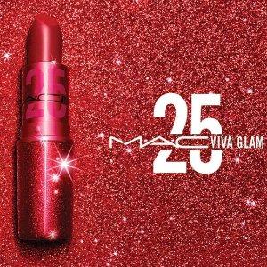 售价£17.5上新:M.A.C Viva Glam周年款限定子弹头