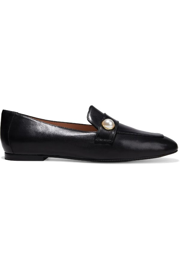 Payson faux 珍珠穆勒鞋