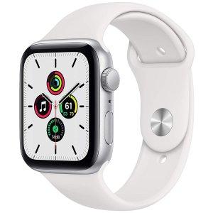 史低价:Apple Watch SE 44mm GPS 白色