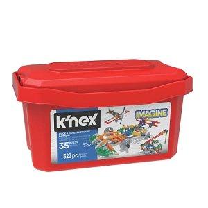 $13.95(原价$34.99)史低价:K'NEX 模型创意拼搭玩具,适合7-12岁儿童