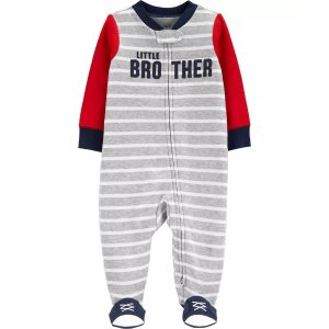 Carter's婴儿双向拉链连体衣