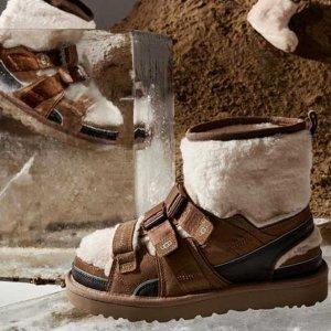 $325收中国设计师合作款UGG X Feng Chen Wang 联名款美鞋发售 春夏秋冬都能穿