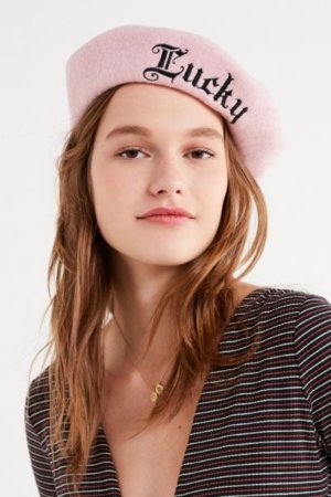 Lucky Wool Beret | Urban Outfitters