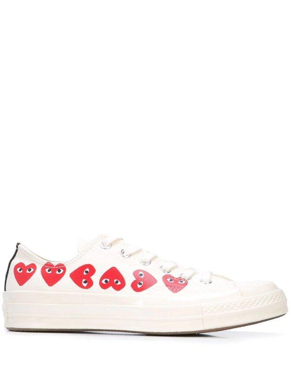 x Comme Des Garcons 低帮帆布鞋