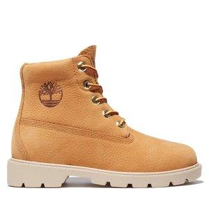 Timberland经典6英寸登山靴 大童款