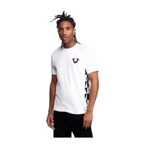 帅气白T恤