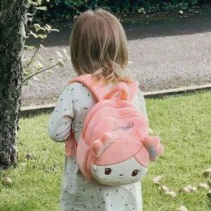 €16.99收封面同款Gloveleya 软萌ins风娃娃背包 娃娃可拆卸 马卡龙色可爱到犯规