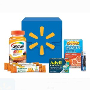 Exclusively at Walmart! $9.99 Wellness Kit (over $30 Value) Featuring top selling health brands @Walmart