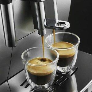 $10 (原价$19.99)Delonghi 6盎司双层隔热精致玻璃咖啡杯2件套